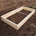 Final assembly of a single layer garden bed