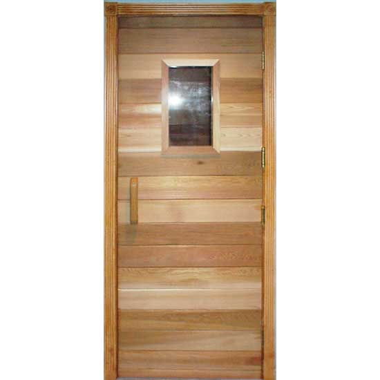 Residential Sauna Door With 10 Quot X 18 Quot Window
