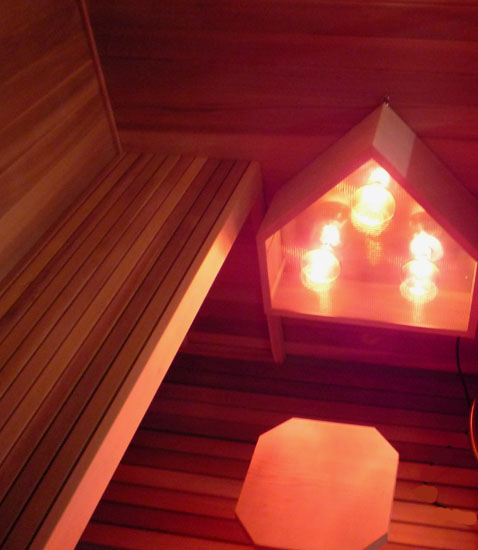 Combination Electric Infrared Sauna Kit