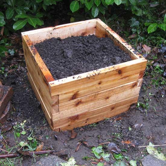 2u0027x2u0027 Cedar Raised Garden Bed Kit