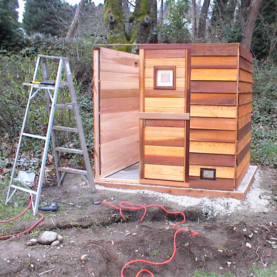 The Gallery For Diy Sauna Plans