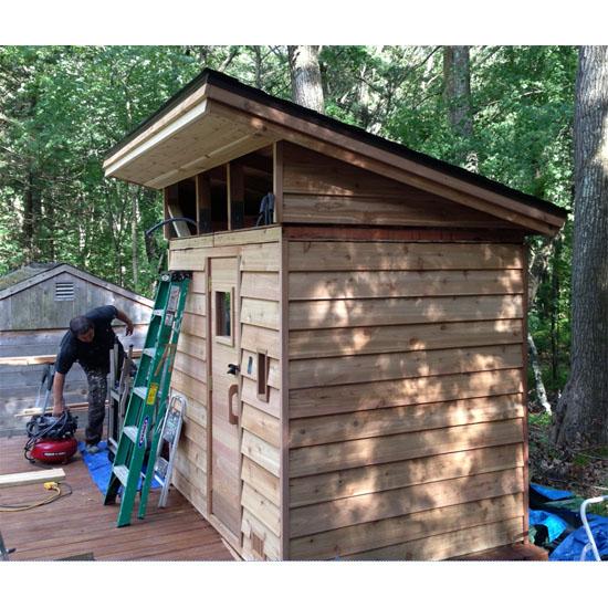 5 X7 Outdoor Sauna Kit Heater Accessories