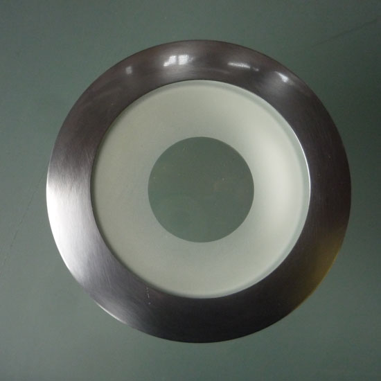 Saunasteam wet rated 6 recessed ceiling light satin chrome finish trim ring specs aloadofball Choice Image