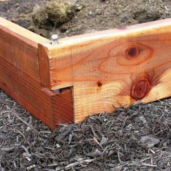 Cedar Raised Bed Garden Kit 2x6