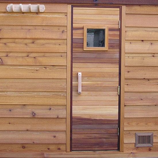 5 X7 Outdoor Sauna Kit Heater Accessories Roof Options