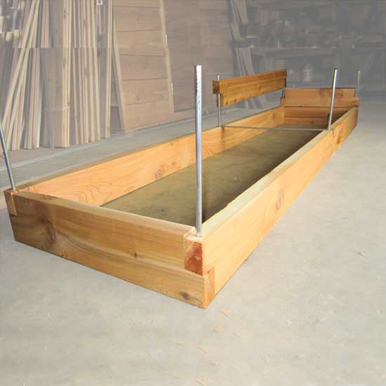 Cedar Raised Bed Garden Kits 3x8