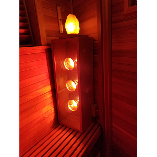 Infrared Sauna Light Box Vertical Emits Near Middle And Far Infrared