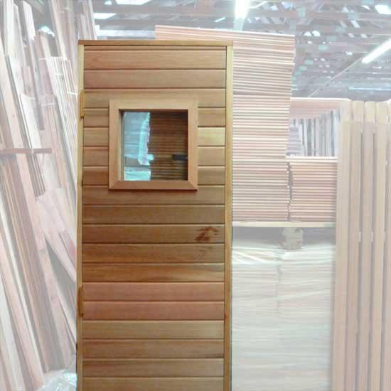 ... Option: Sauna Door With 13x13 Window ...