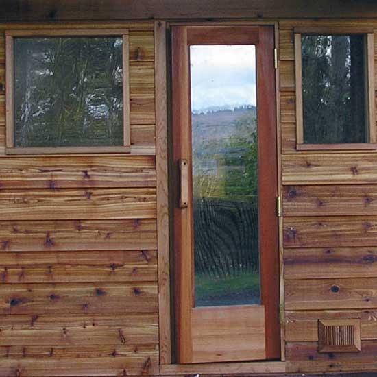 Residential Sauna Door + 55\  x 16\  ... & Residential Sauna Door + 16\