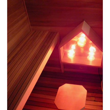 Combination Electric / Infrared Sauna Kit Materials Package