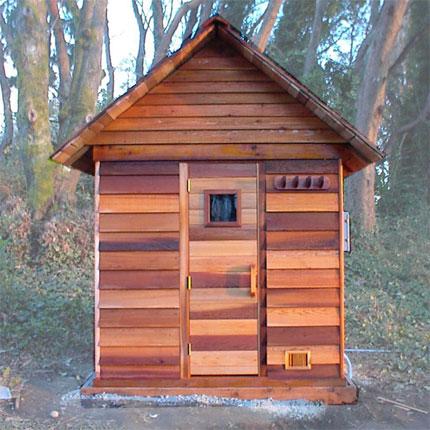 Sauna Roof Kit - 5'x6' Sauna  Ready to Mount on Sauna Frame