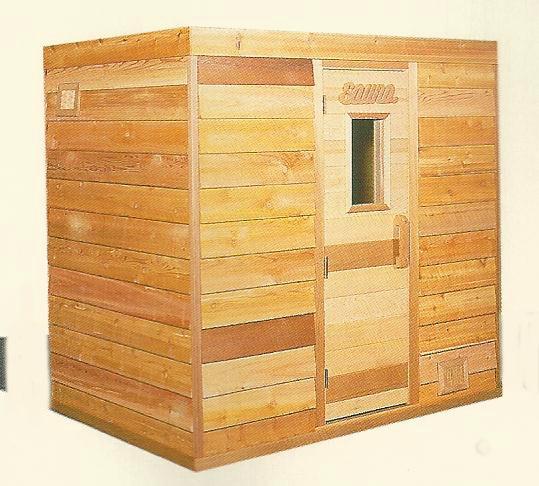5\'x5\' Indoor Home Sauna Kit + Heater + Accessories Package