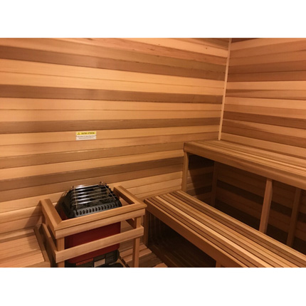 ADA 7'x7' Sauna Kit | DIY Precut + Heater Package