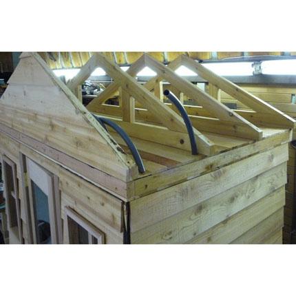 Sauna Built-in Electrical Conduit