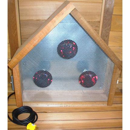 Infrared Triangular Sauna Light Box