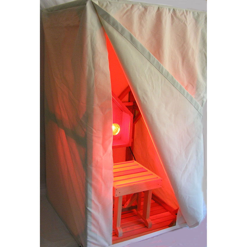 Sauna Therapy Tent u0026 Stool Only  sc 1 st  Cedarbrook Sauna & Sauna Therapy Tent and Stool Only