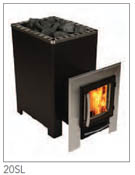 Blackline Wood Burning Model 20SL Ext Feed