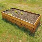 2'x4' Cedar Raised Garden Bed Kit