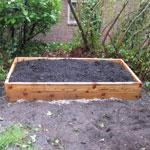 4'x4' Cedar Raised Garden Bed Kit