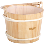 Wood Sauna Bucket 3 Gallon