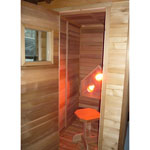 "36"" x 42"" Near Infrared Cedar Sauna Kit"