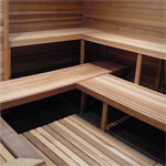 6'x9' Sauna Kit | DIY Precut + Heater Pkg