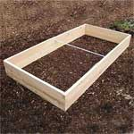 4'x8' Cedar Raised Garden Bed Kit