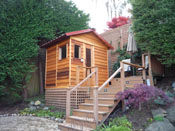 Sauna Metal Roof Kit - 5'x7' Sauna