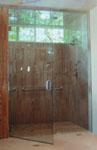 EL20 Steam door wall w/ operable transom