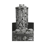Harvia Legend Wood burner smokepipe