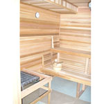 8'x9' Sauna Kit | DIY Precut + Heater Package