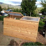 """24""""x36""""x72"""" Cold Frame Senior Stand Up Series"""