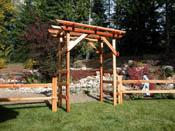 Split Cedar Arbor kit