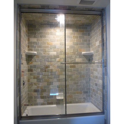 steam shower slider door agalite ate