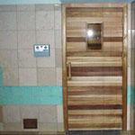 """Commercial Sauna Door + 10""""x18"""" Window"""