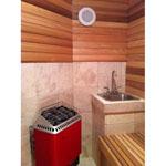 4'x7' Home Sauna Kit | DIY Precut + Heater Package