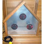 Infrared Triangular Sauna Light Box
