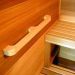 Cedar Grab Rail / Wall Handle