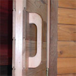 Cedar Sauna Door Handle