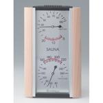 Sauna Thermometer + Hygrometer Combo