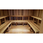 10'x12' Sauna Kit | DIY Precut + Heater Package