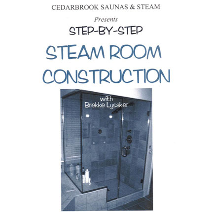 Steamroom Construction DVD Video