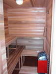 7'x8' Sauna Kit | DIY Precut + Heater Package