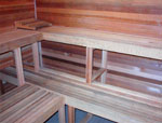 7'x10' Sauna Kit | DIY Precut + Heater Package