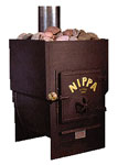 Nippa Woodburning Sauna Stove Model WC 24