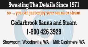 Contact Cedarbrook Sauna + Steam