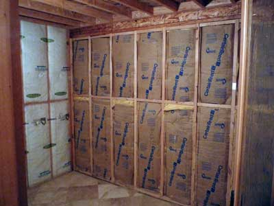 How to build a sauna converting a room to a sauna for Make your own sauna at home