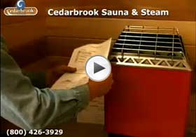 Review centering and mounting the electric sauna heater