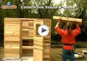 how to build a sauna indoors and outdoors videos steam too. Black Bedroom Furniture Sets. Home Design Ideas