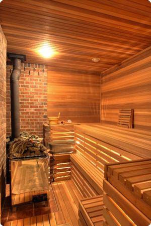 Indoor Moder Sauna Lamp